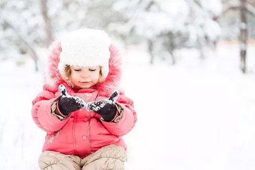 Carters 冷 冷 冷 大寒天该怎么给宝宝穿衣