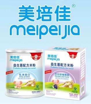 宝宝添加辅食 美培佳益生菌配方米粉营养+健康