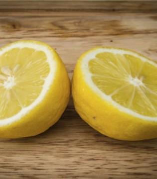 柠檬营养价值高 原来泡一泡会更加完美