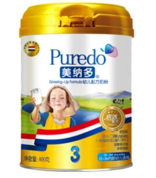 进口奶粉排行榜 美纳多荷兰进口好品质赢好口碑