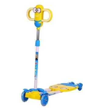 如何给宝宝挑选益智玩具 首选儿童滑板车