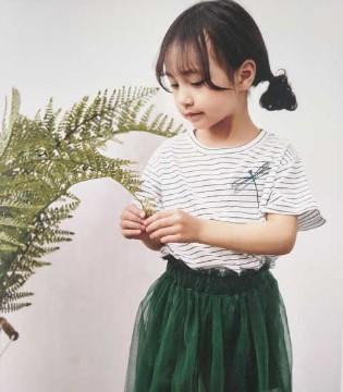 青稚品牌2018春夏新品 清新简约的T恤系列