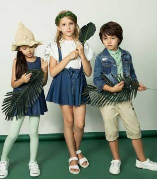 水孩儿品牌童装2018春夏款式 将孩子的个性表达出来