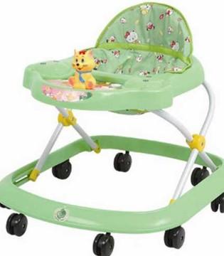 宝宝用学步车危害大 使用学步车要避免两个误区