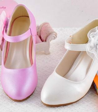 简单甜美公主鞋 尽显小女孩的优雅可爱