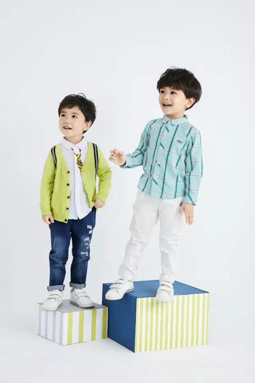新装童乐绘 嗒嘀嗒童装与你描绘春の色彩