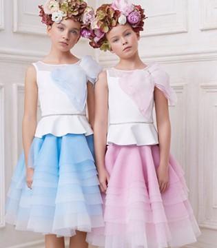 Monnalisa Couture 2018春夏新品 梦寐以求的连衣裙来袭