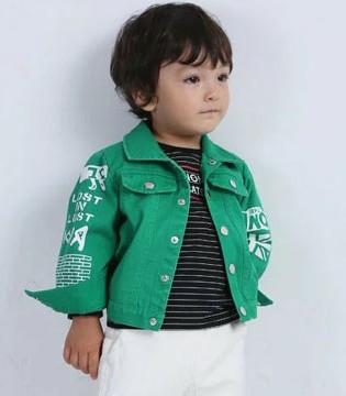 酷小孩2018春季新品 休闲时尚的小外套你有了吗