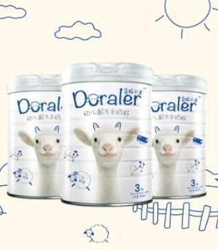 朵拉小羊幼儿配方羊奶粉带领羊乳市场