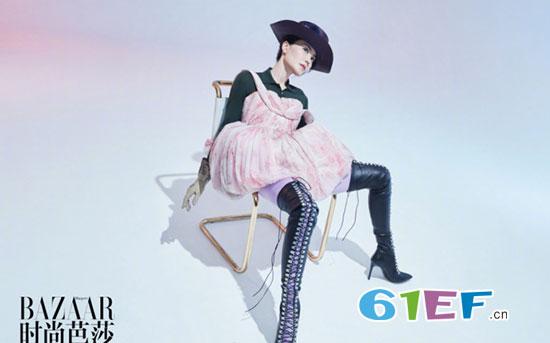 王菲登《时尚芭莎》封面 演绎有风格有态度的概念大片
