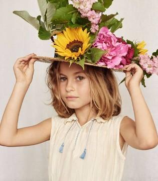 英国奢侈品品牌caramel baby&child春夏女童新品系列