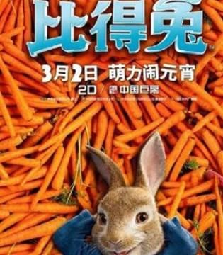 《比得兔》持续热映 口碑票房双双上涨