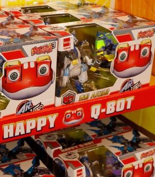 快乐酷宝3衍生玩具上市 AR对战成最大亮点