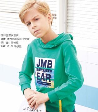 杰米熊品牌春装 用时尚元素点亮整个春天