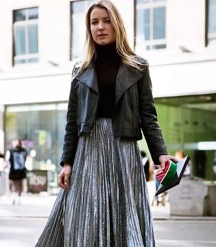 美到犯规的百褶裙 每次上街你都值得最好的