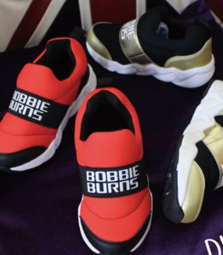 Bobbie Burns品牌童鞋新款上市 潮酷十足