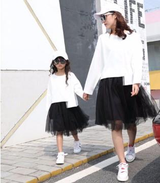 卡儿菲特(CARLFIT)亲子装 2018春夏时尚新款