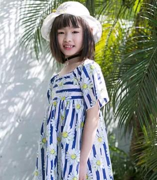 尼辛品牌童装夏季新品已陆续上新 你是人间的四月天