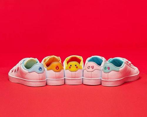 皮卡丘 童年的回忆 FILA与Pokémon合作推联名鞋款