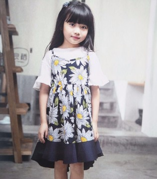青稚童装 别人家的孩子好漂亮 怎么让自家孩子也这么Fashion