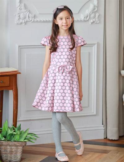 安妮公主童装的法式波尔卡波点进行曲