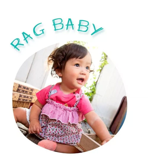 Rag Mart(爱家乐)童装夏日穿搭  邂逅田园小清新