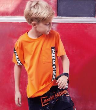杰米熊2018夏季系列 轻松突显出孩子的活泼、高贵
