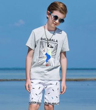 适合小萌娃夏天旅游的服饰 可娃衣童装带孩子到海边浪