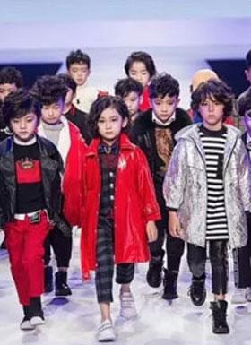 两个小朋友2018秋冬时尚新品 上海时装周完美绽放