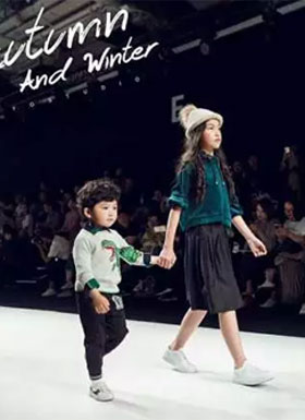 上海时装周 两个小朋友MINI 2018秋冬新品发布会