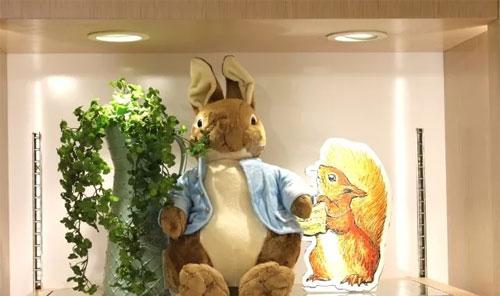 新店开业 | 汇宝广场蹦出一只比得兔!