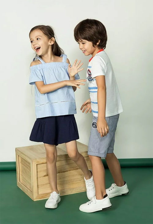 """Souhait水孩儿童装 洛阳丹尼斯百货店 初 夏""""尚""""新"""
