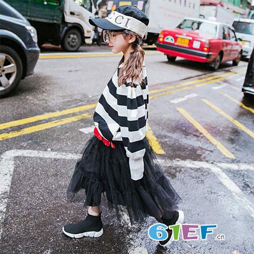 小小女孩超酷炫 比奇童话品牌童装教你这样穿