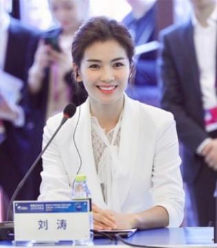 美丽田园代言人刘涛亮相博鳌开幕式 分享探讨女性力量