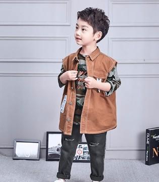 诺麦然品牌童装上课划重点 小小型男的潮范搭配不能少