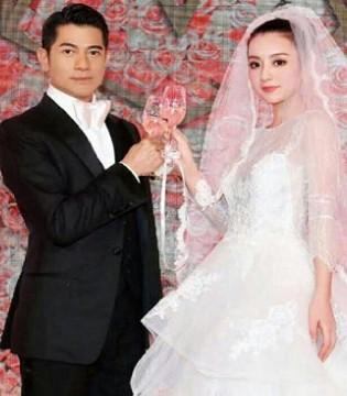 郭富城方媛罕见婚照曝光 十分郎才女貌