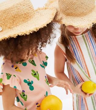 ZARA品牌童装夏季新款来袭 展现童真搭配规范!