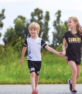五一带孩子做运动穿什么好?CAMKIDS垦牧品牌运动童装