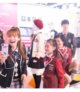 2018上海国际校服 园服展览会盛大开幕