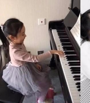 甜馨弹钢琴气质优雅 与曾经形象完全脱轨