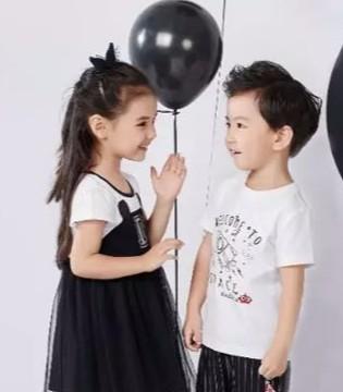 嗒嘀嗒童装带你走进夏季流行色 黑白配