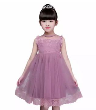 好看的女童网纱裙搭配 魔方童装品牌夏季新品推荐!