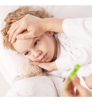 孩子发烧期间如何饮食 你知道吗