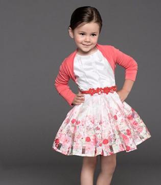 """意大利童装品牌Alice Pi 一""""裙""""小公主的故事!"""