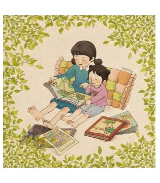 听1001夜童话童装讲故事  小白兔的大板牙