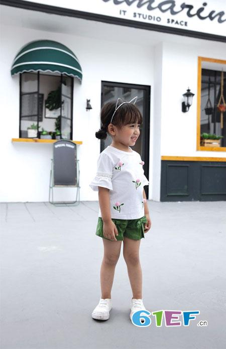 �岸垢笸�装・传播爱与美学――中国儿童时尚美!
