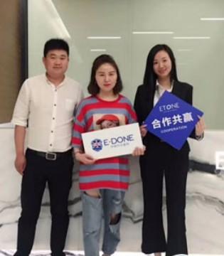 伊顿风尚龙8国际娱乐官网品牌加盟店三店齐开 祝生意兴隆!