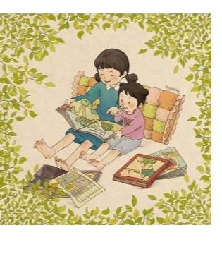 听1001夜童话童装讲故事 坐坐羊让座