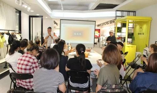 台湾清华大学 辅仁大学参访玛玛米雅童装