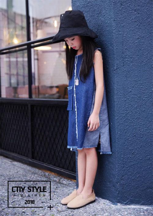 艾米艾门童装之连衣裙  美丽夏日 气质出行
